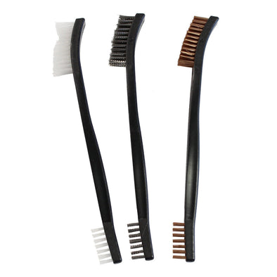 BIRCHWOOD CASEY UTILITY BRUSHES - 3-PACK
