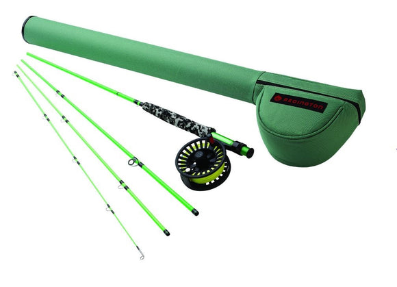 REDINGTON YOUTH MINNOW 4-PIECE FLY ROD COMBO