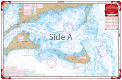 NAUTICAL CHART #50 BLOCK ISLAND TO CHATHAM