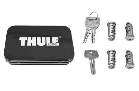 THULE 4 PACK ONE KEY LOCK CYLINDERS