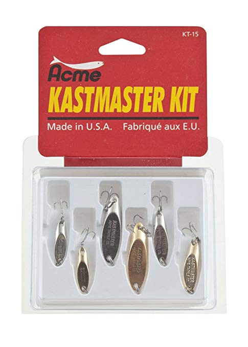 ACME KASTMASTER KIT 6 PK