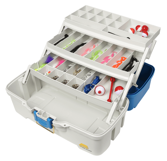 PLANO 620310 LET'S FISH! THREE-TRAY TACKLE BOX