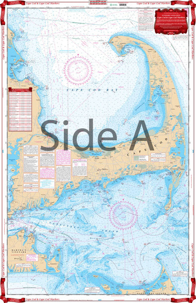 NAUTICAL CHART 64 CAPE COD AND HARBORS
