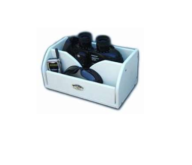DEEP BLUE BINOCULAR STORAGE BOX