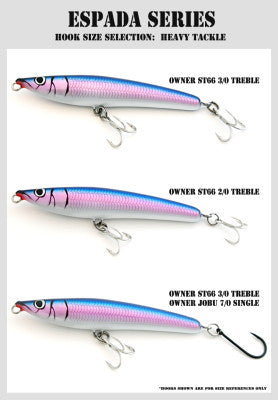 STRATEGIC ANGLER ESPADA-F SERIES