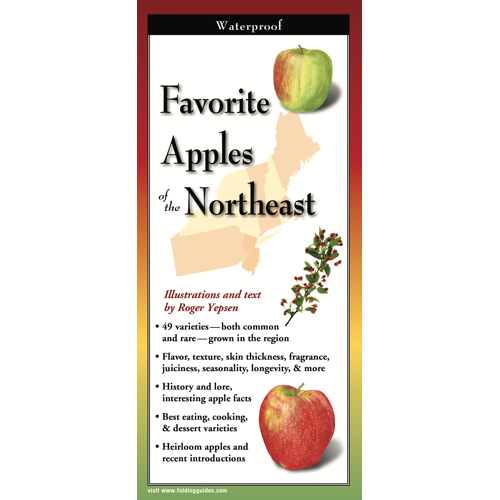 FAVORITE APPLES OF NEW ENGLAND FOLDING GUIDE