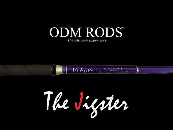 "ODM THE JIGSTER 11'0"" FAST SURF ROD 4 - 10 OZ 2 PC"