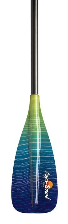 AQUA-BOUND MALTA FIBERGLASS SUP PADDLE 2 PC
