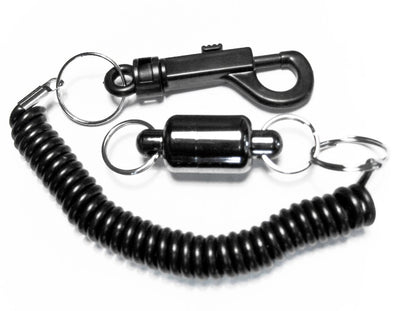 STONE CREEK MAGNETIC NET RELEASE WITH COILED LANYARD