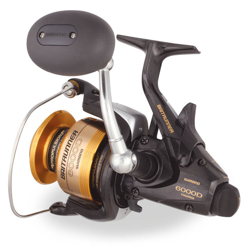 BUY A SHIMANO BAITRUNNER D SPINNING REEL AND GET IT SPOOLED FOR FREE!