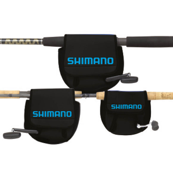 SHIMANO BLACK NEOPRENE SPINNING REEL COVER