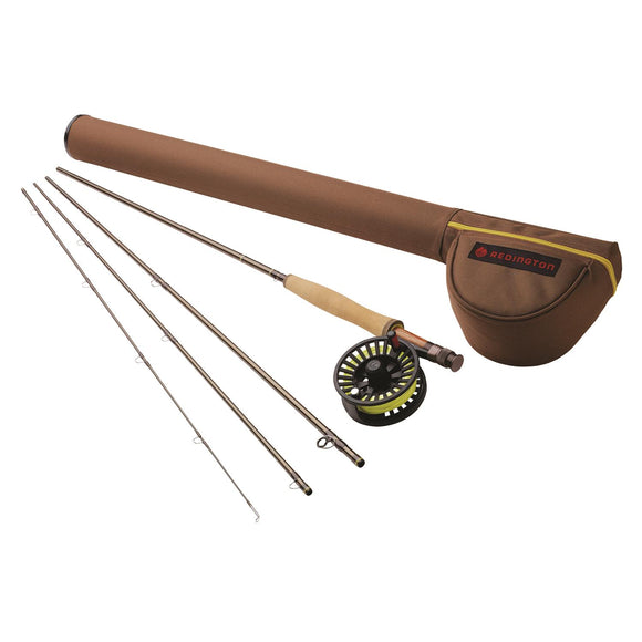 REDINGTON PATH 4-PIECE FLY ROD AND REEL COMBO