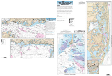 CAPTAIN SEGULL'S NAUTICAL CHART