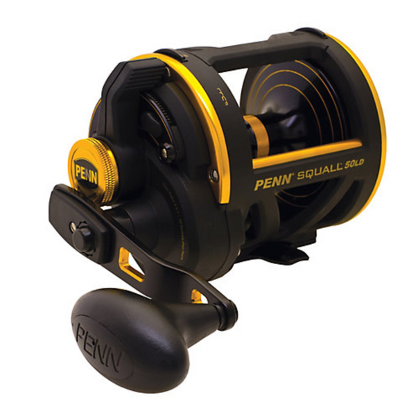 BUY A PENN SQUALL LEVER DRAG TROLLING REEL AND GET IT SPOOLED FOR FREE!