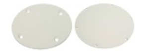 "COVER PLATE 4-1/8"" ARTIC WHITE"