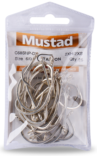 MUSTAD SIGNATURE TARPON FLY HOOK - SALTWATER