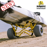 SUSPENZ HEAVY DUTY DEEP-V BALLOON SAND CART