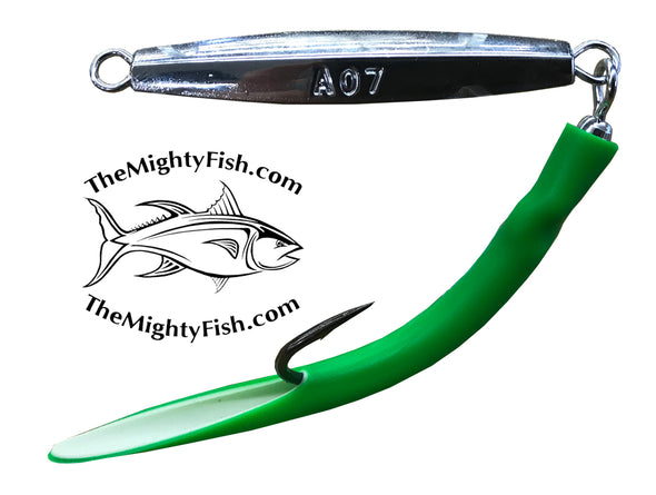 THE MIGHTY FISH TACKLE COMPANY MF 007 DIAMOND JIG