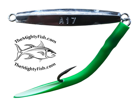 THE MIGHTY FISH TACKLE COMPANY MF 017 DIAMOND JIG