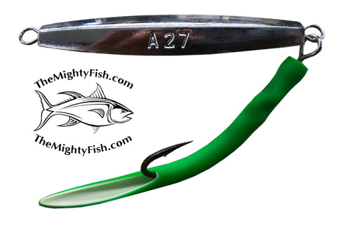 THE MIGHTY FISH TACKLE COMPANY MF 027 DIAMOND JIG