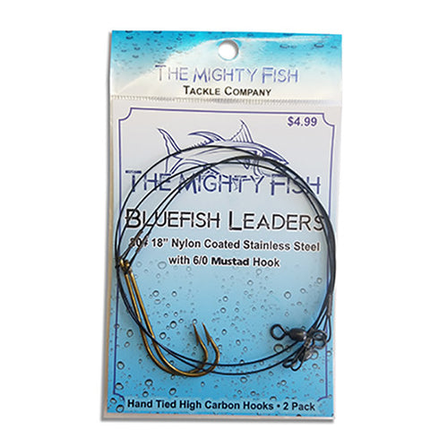 THE MIGHTY FISH TACKLE COMPANY BLUEFISH LEADER