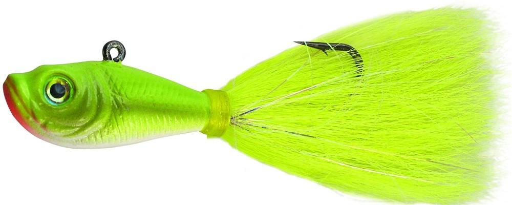 "SPRO Bucktail Jig 1//2 oz /""Sand Eel Green/"""