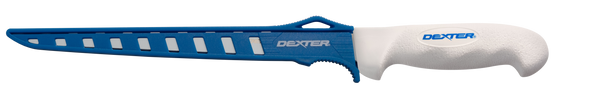 "DEXTER 9"" FLEXIBLE FILLET KNIFE, WITH EDGE GUARD"