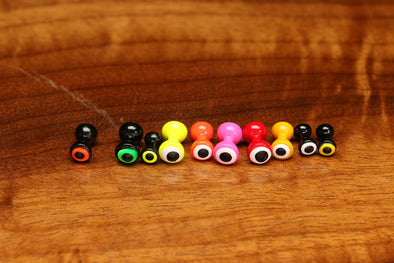 HARELINE LARGE DOUBLE PUPIL BRASS EYES 5MM