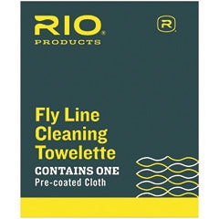 RIO FLY LINE CLEANING TOWELETTES