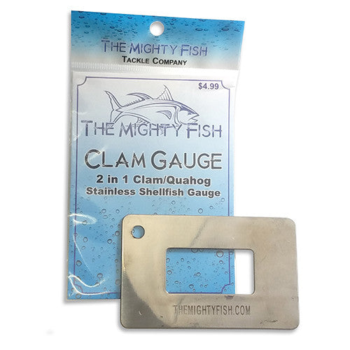 THE MIGHTY FISH TACKLE COMPANY CLAM GAUGE