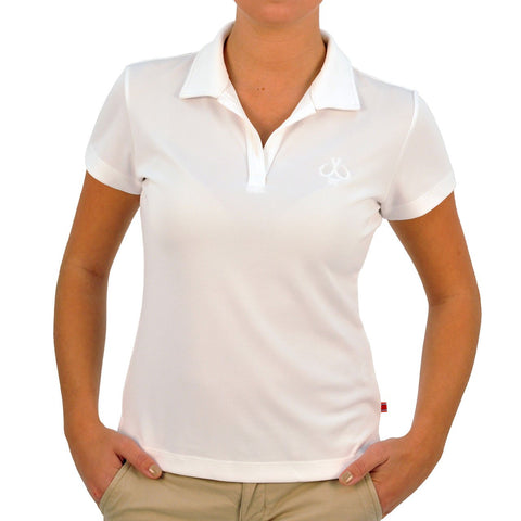MONTAUK TACKLE COMPANY WOMEN'S PERFORMANCE S/S POLO