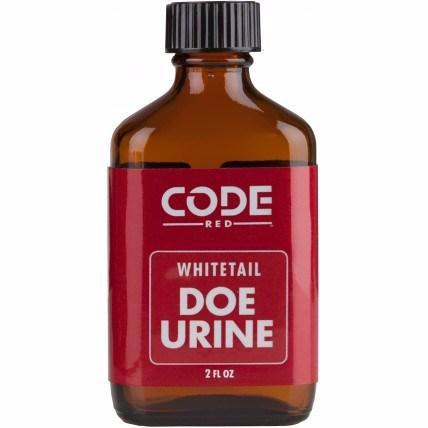 CODE RED WHITETAIL DOE URINE 2 OZ