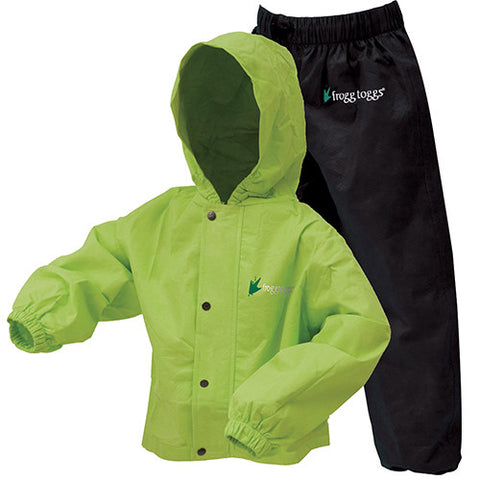 FROGG TOGGS POLLY WOGGS YOUTH RAIN SUIT
