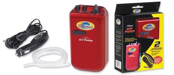TSUNAMI 2 SPEED AIR PUMP W/12V POWER CABLE
