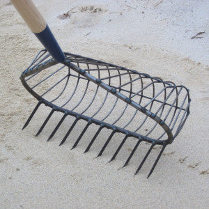 R.A. RIBB COMPANY STAINLESS 11 WIDE-MOUTH BASKET RAKE NO 16