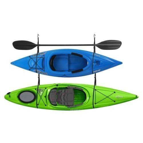 WALL KAYAK HANGER STRAP SET - 2 KAYAKS/SUP'S