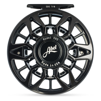 ABEL SDS 7/8 FLY REEL BLACK
