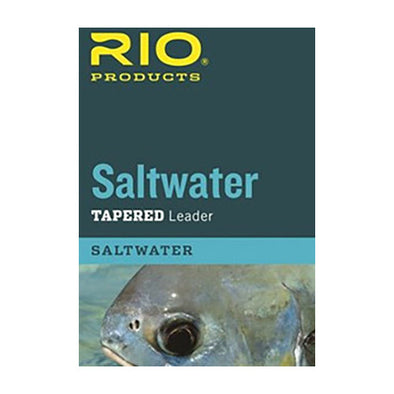RIO SALTWATER TAPERED LEADER 10 FT