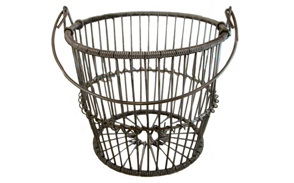 WIRE CLAM BASKET