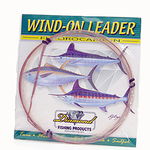 DIAMOND WIND-ON LEADER FLUOROCARBON