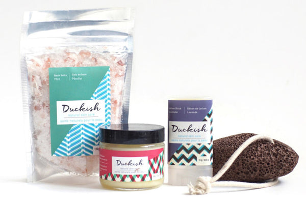 theNotice Review of Duckish All-Natural DIY Pedicure Kit