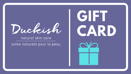 Gift Cards and Partnership with Dress for Success | Duckish Natural Skin Care