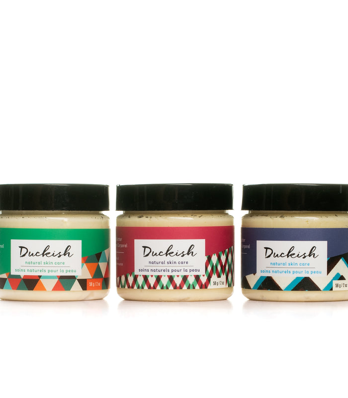 2oz All-Natural Body Butter Bundle | Duckish Natural Skin Care