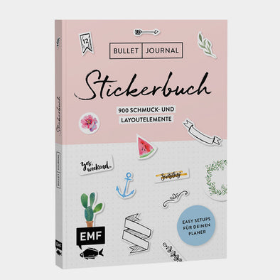 Bullet Journal Stickerbuch 1