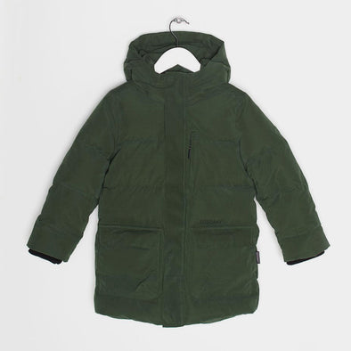 Puffer Jacke Tiger Eye Green Forest