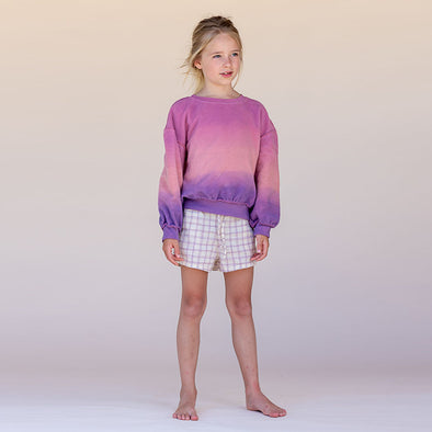 Sweatshirt Purple Pink