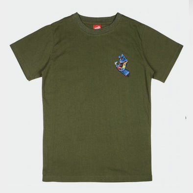 T-Shirt Primary Hand Olive