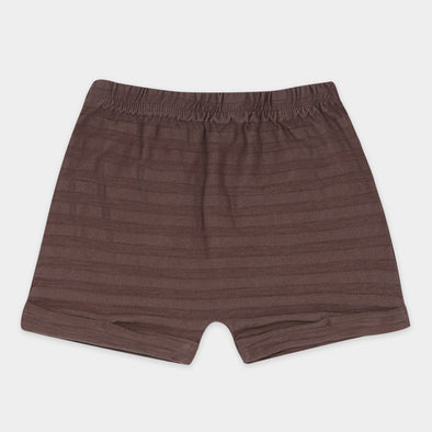 Shorts Tonal Stripes Heather