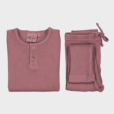 Pyjama Ours Bee Old Pink