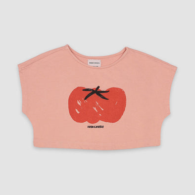Sweatshirt Cropped Tomato